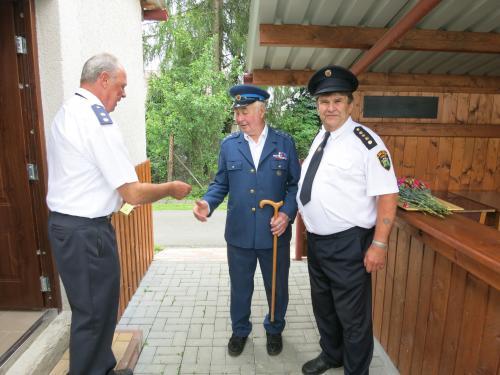 První setkání hasičských seniorů