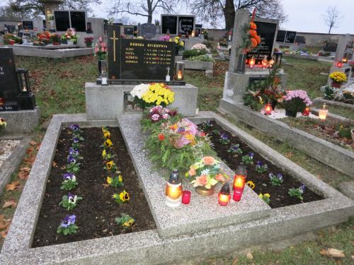Uctění památky zesnulých