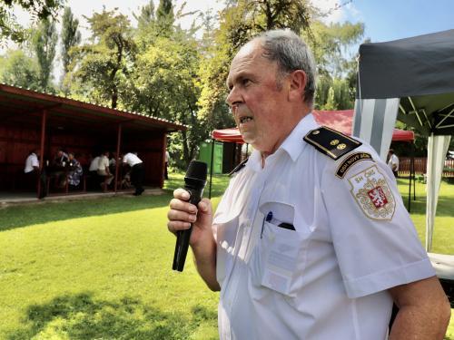 III. ročník setkání seniorů hasičů ve Vésce