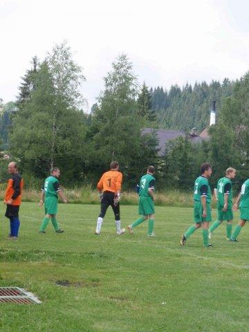Turnaj ve fotbale 25.7.2009 Oravská Lesná, Slovensko